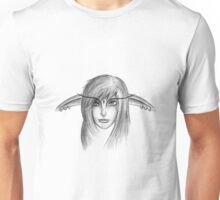 Elf Girl Head Unisex T-Shirt