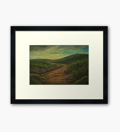A Way AC160915a Framed Print