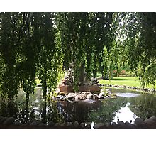 Fountain in the Gardens Photographic Print