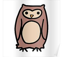 Brown Owl Poster
