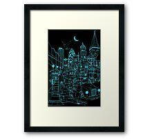 London! Night Framed Print