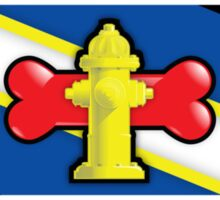 Yellow Hydrant Sticker