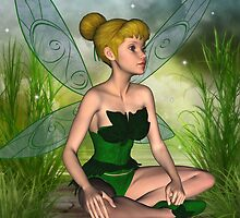 Tink Fairy Fantasy  by Diane Leenknegt