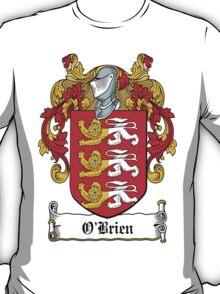 O'Brien Coat of Arms (Irish) T-Shirt