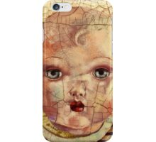 """""""Nothing to Fix"""" (antique boy doll) iPhone Case/Skin"""