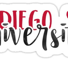 San Diego State University - Style 1 Sticker