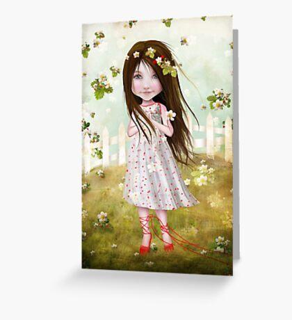 Annalise Lane Greeting Card