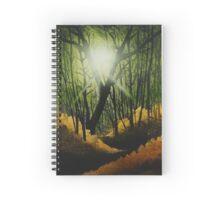 Golden Rays of Sunlight Spiral Notebook