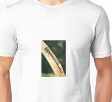Damselfly on a Leaf Unisex T-Shirt