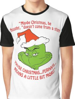 Grinch Funny Graphic T-Shirt