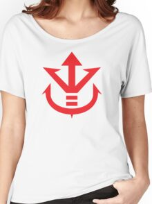 Royal Saiyan Army Crest Women's Relaxed Fit T-Shirt