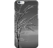 Tree with snow iPhone Case/Skin