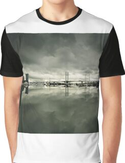 Docklands and the Bolte Bridge Graphic T-Shirt