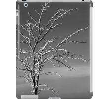 Tree with snow iPad Case/Skin