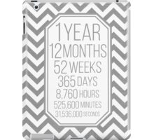 One Year iPad Case/Skin