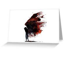 fear alma Greeting Card