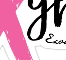 Fight - Proceeds Will Be Donated to Susan G. Komen Sticker
