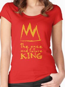 Once And Future King Women's Fitted Scoop T-Shirt