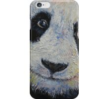 Panda Smile iPhone Case/Skin