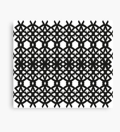 Spike Pattern Canvas Print