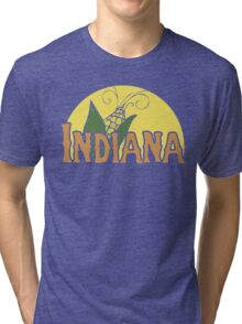 Indiana Retro Logo Tri-blend T-Shirt
