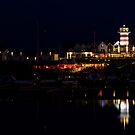 Lighthouse - Lake Geierswald - Germany by Ronny Falkenstein