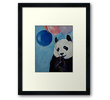 Panda Party Framed Print