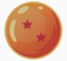 Dragon Ball / Dragonball Z / DBZ - 2 Star Ball One Piece - Short Sleeve