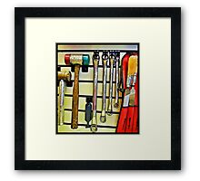 Tools Framed Print