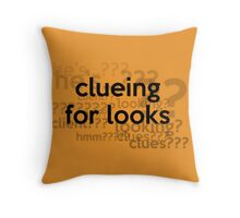 [Sherlock] - Clueing for Looks  Throw Pillow