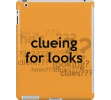 [Sherlock] - Clueing for Looks  iPad Case/Skin
