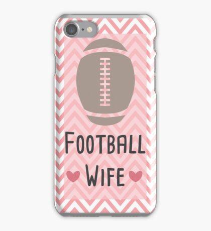 Football Wife iPhone Case/Skin