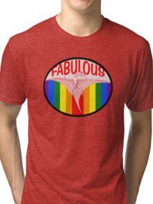 Fabulous Pterodactyl  Tri-blend T-Shirt