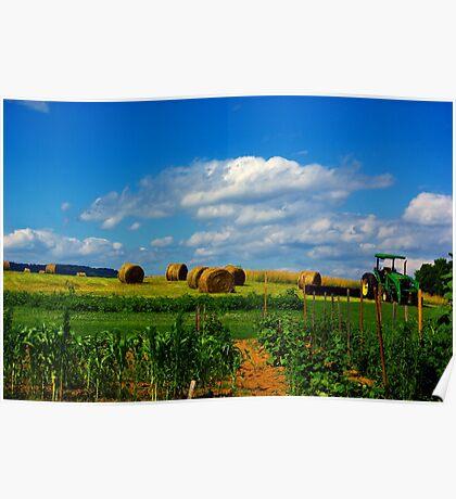 Virginia Farm Poster