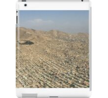 US Army Blackhawk Helicopter over Kabul Afghanistan  iPad Case/Skin
