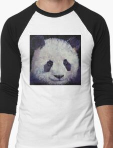 Baby Panda Men's Baseball ¾ T-Shirt