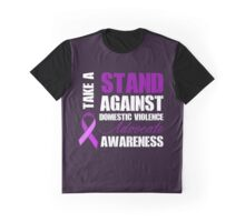 Take a Stand | Light on Dark Graphic T-Shirt