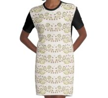 Berry Nice To Meet You Graphic T-Shirt Dress