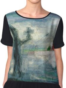Brother Natanael - the Street Evangelist Chiffon Top