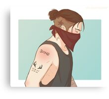 Punk Bucky Canvas Print