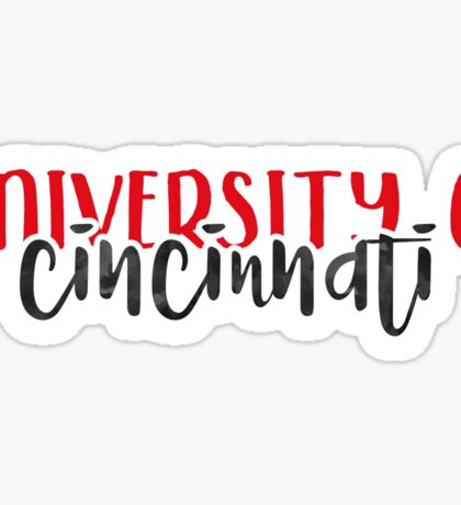 University of Cincinnati - Style 1 Sticker