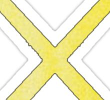 Field Hockey Yellow Sticker