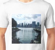 Manhattan Skyline from Queens Unisex T-Shirt