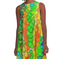 Bubbles A-Line Dress