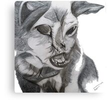 Waggy Tails Pet Rescue Inc Ft. Tiffany Canvas Print