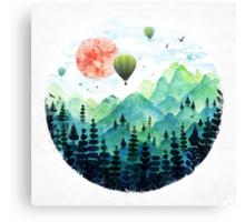 Roundscape Canvas Print