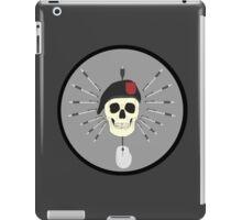 Desk Warrior Patch iPad Case/Skin