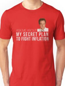Josh Lyman Tee - Secret Plan to Fight Inflation Unisex T-Shirt