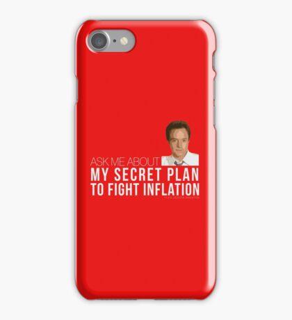 Josh Lyman Tee - Secret Plan to Fight Inflation iPhone Case/Skin
