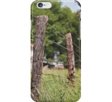 Under the fence iPhone Case/Skin